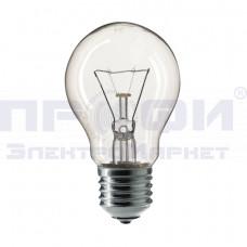 Лампа Philips A55 60Вт/E27 прозрачная
