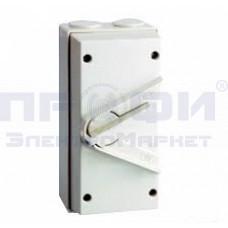 Выключатель влагозащищенный WP 3P-63A  (IP56) ЭНЕРГИЯ
