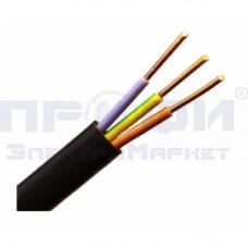 Кабель  ВВГ-п 3х1,5 (ТУ)(откл. по S до 20% - 1,2 мм2)