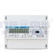 Счетчик 3ф. СЕ300 R31 146-J (3х220В, 5-100А, опт. инт. ЖК) Энергомера