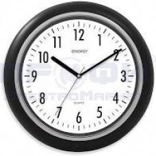 Часы Energy ЕС-123 настенные кварц круг с зерк вставк Черн 40.6*4.5см