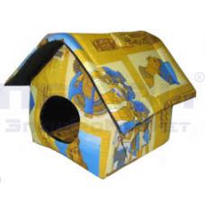 Дом для кошек мягкий (китайск. крыша)