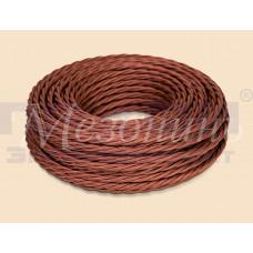 Провод витой ПВХ 2х1,5  коричневый GE70141-04