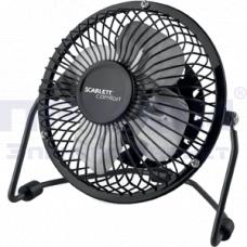 Настольный вентилятор SCARLETT SC-DF111S99 (черный)