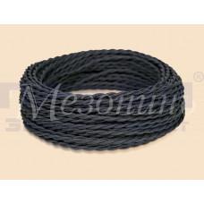 Провод витой ПВХ 3х2,5 чёрный (бухта 10м) GE70114-05