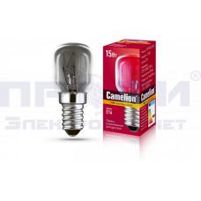 Лампа накаливания для духовок Camelion MIC 15/PT/CL/E14