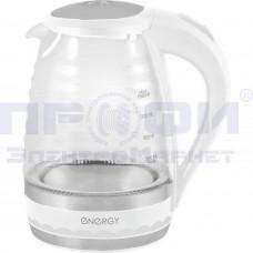 Чайник Energy Е-284 стекло/пластик/металл дисковый 2200Вт подсветка 1.5л