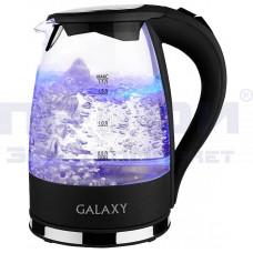 Чайник Galaxy GL 0552 дисковый стекло подсветка 2200Вт 1.7л /Китай/