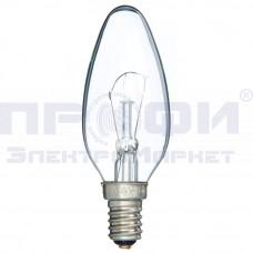 Лампа накаливания декоративная ДС 60Вт В45 230В Е14 (свеча)