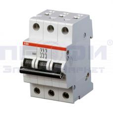 Выключатель автоматический трёхполюсный 6А С SH203L 4,5кА
