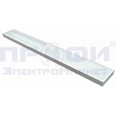 Светодиодный светильник 27Вт 2700лм 5700K опал с облучателем бактерицидным (UVC+UVA) открытого дейст