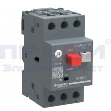Выключатель авт. для защиты электродвигателей 1-1,6А SchE GZ1E06