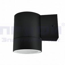 Светильник уличный односторонний ЦИЛИНДР-1П-GX53 пластик под лампу 230В черный  IN HOME