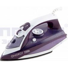 Утюг электр Energy EN-344 пар удар/самооч/тефлон подош 2200Вт Фиолет.
