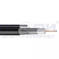 """Радиочастотный кабель RG6 """"EUROSTAR""""  с тросом (1,02mm)"""