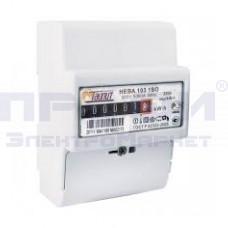 Счетчик электронный НЕВА 103 1SO 220В 5-60А (DIN-рейка) (внутр. учёт)