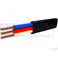 Кабель  ВВГ-п 3х1,5  (откл. по S до 10% - 1,35 мм2)
