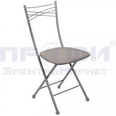 Стул Nika складной со спинкой /мяг сиденье Светло-серый,/Ник/