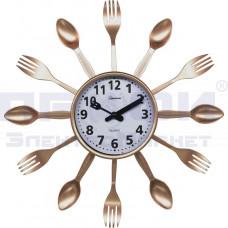 Часы Homestar настенные кварц НС-09 для кухни