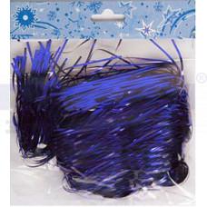 Дождь 150см шир.15см Звездный путь MY-186 фиолетовый