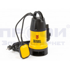 Дренажный насос DP900, 900 Вт, подъем 8,5 м, 14000 л/ч Denzel (97223)