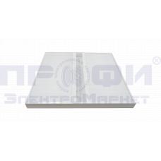 Светодиодный светильник 36Вт 3600лм 5700K опал с облучателем бактерицидным (UVC+UVA) открытого дейст