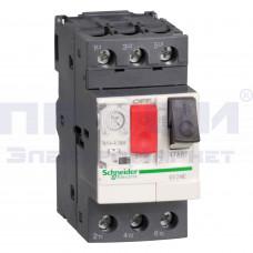 Выключатель авт. для защиты электродвигателей 4-6,3А SchE GZ1E10