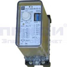 Реле тока макс (5-25А 2ф б/ОП) РСТ-42В-20-03-11-1 (0,05-3,15с)