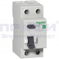 Выключатель авт. диф. тока 2п С 25А 10мА тип АС EASY 9 SchE EZ9R14225