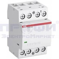 Контактор ESB40-40N-06 модульный (40А АС-1, 4НО) катушка 230В AC/DC